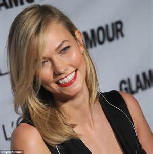 karlie kloss hair color karlie kloss transforms into a fiery redhead for l or 233 al