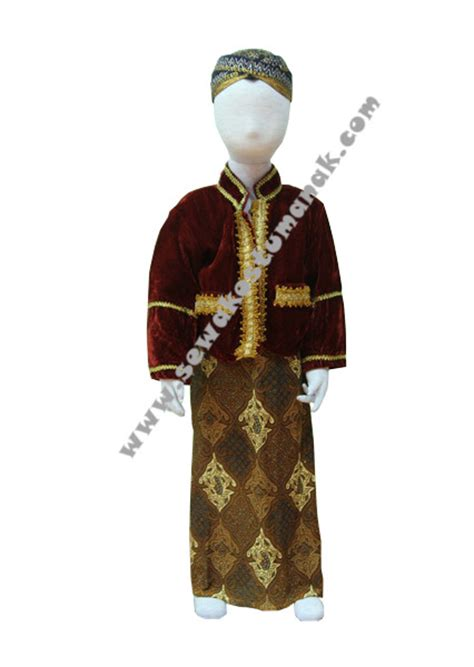 Baju Adat Sunda Kecil pakaian adat jawa kebaya anak sewa kostum anak