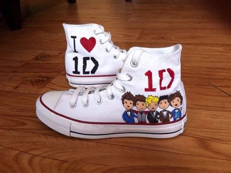one direction shoes for 1d shoes custom converse shoes by customizedconverse
