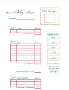 cute budget planner printable budget 2013 on pinterest household budget finance and money