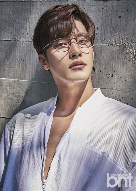 Sung Hoon is Submerged in Blue for BNT International