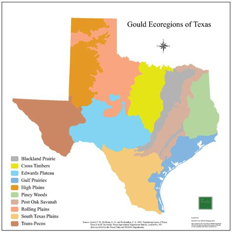 texas ecosystems map tpwd gis lab map downloads