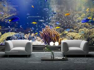 wall murals sea life canvas prints amp posters underwater life size waiter guillaume peel and stick mural