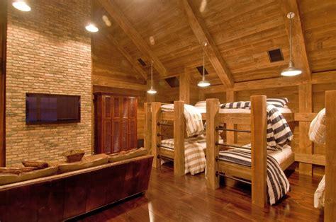 bunk room industrial rustic bunk room htons habitat