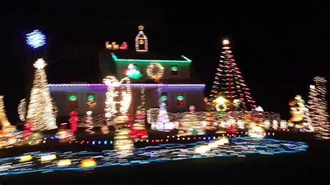 christmas lights in south windsor ct youtube