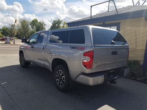 Toyota Tundra Topper 2016 Tundra 1d6 Silver Are Z Series Suburban Toppers