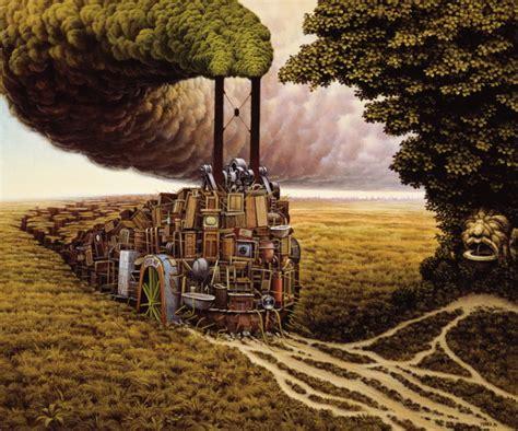 beautiful amazing world amazing surreal paintings by a artist jacek yerka
