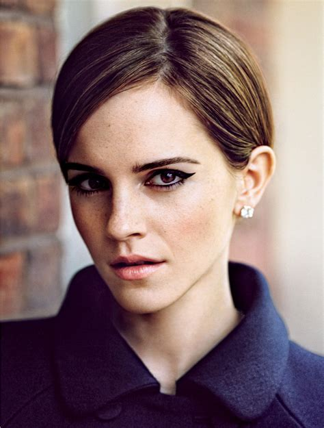 emma watson face shape how to find a hairstyle to suit your face shape the