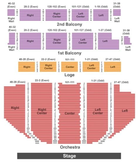 palace theatre albany tickets in albany new york, seating