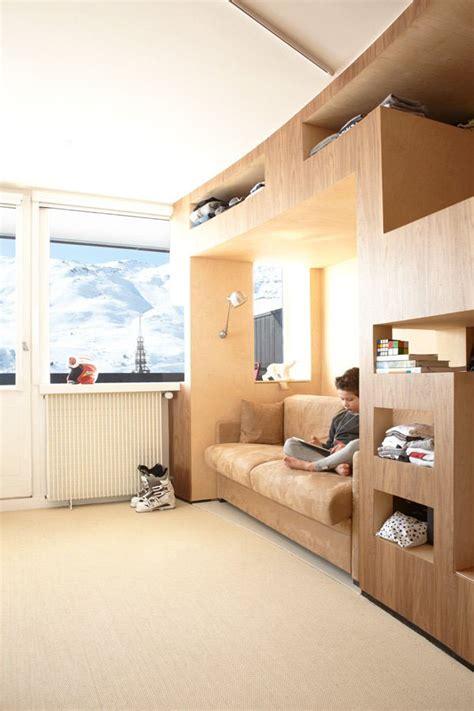 Efficient Apartment Design Efficient Modern Ski Resort Apartment Idesignarch