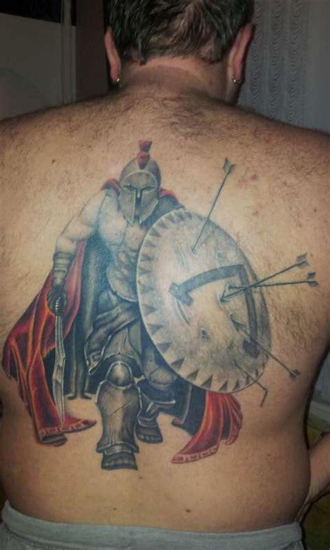 tattoo back warrior 60 incredible spartan tattoos