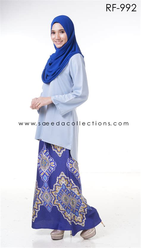 Baju By Healtys koleksi baju fishtail baju kurung moden rona fishtail