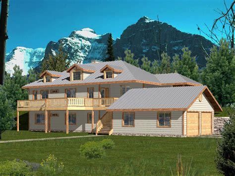 Multi Level Homes by Allenspark Multi Level Home Plan 088d 0272 House Plans
