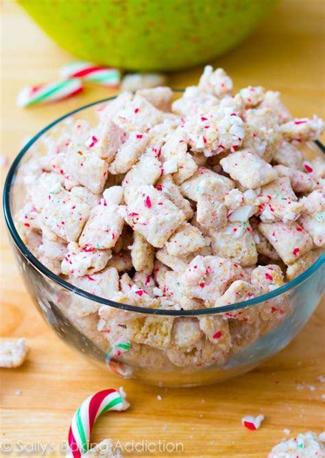 peppermint puppy chow chocolate swirl fudge sallys baking addiction