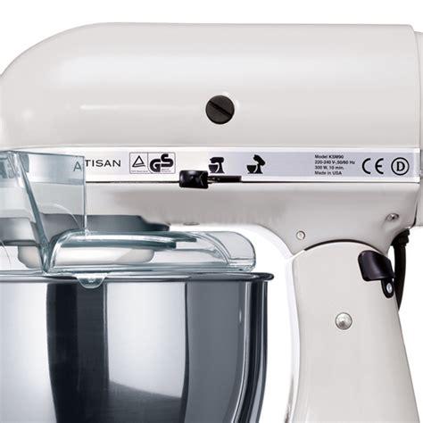 KitchenAid 220 Volt White 4.8L Artisan Stand Mixer