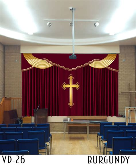 church curtains and drapes church curtains decoration stage curtain