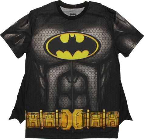 batman pattern t shirt batman sublimated costume with cape t shirt