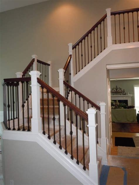 Iron Banister Rails by 25 Best Ideas About Iron Balusters On Iron