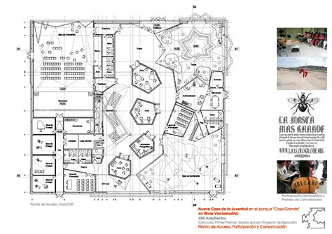 House Plans With Photos gallery of rivas vaciamadrid youth center mi5