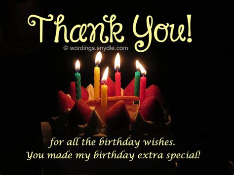 thank you for the birthday wishes images birthday thank you wishes wishes greetings pictures
