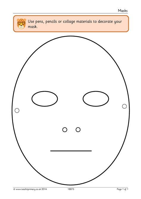 masks templates mask template drama and play templates home page