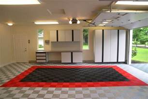 Garage Floor Designs three designs for garage floor tiles that are functional flexible and