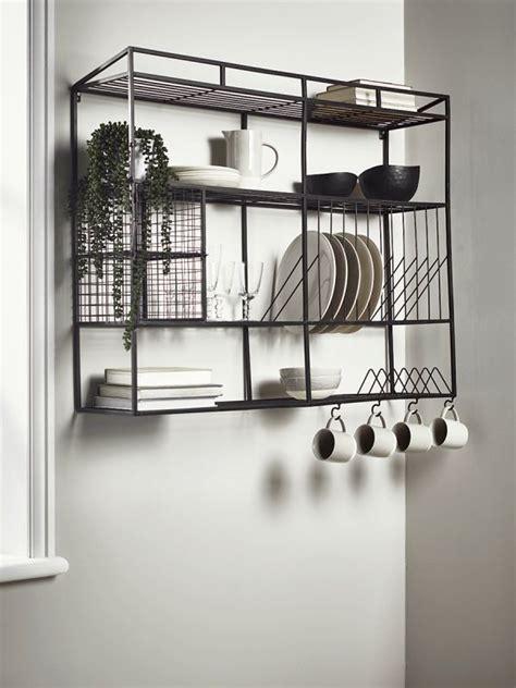 industrial style iron wall unit wide muebles de diseno