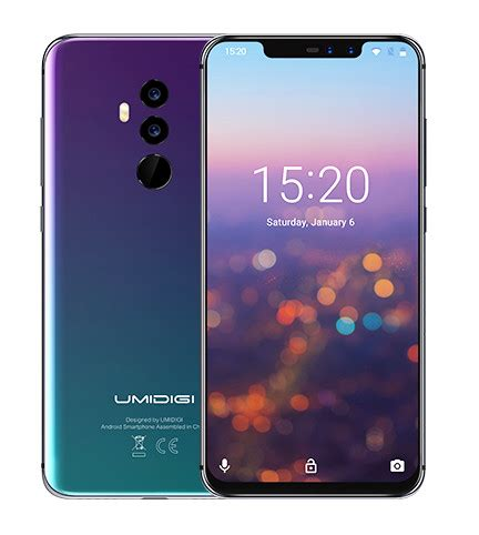 umidigi z2 pro is one of the first smartphones based on