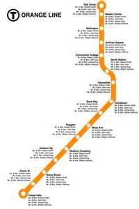 Orange Line Map Chicago by Boston Orange Line Wedding Seating Chart By Whitneyandcompany