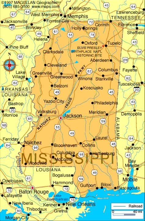 map of ms atlas mississippi
