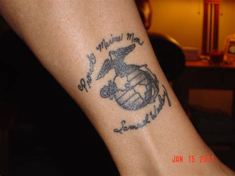 marine mom tattoos proud marine corps tattoos sgt grit marine