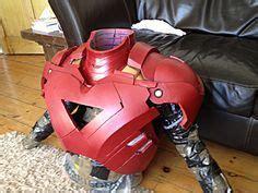 iron man helmet cardboard cosplay diy