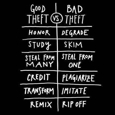 steal like an artist 0761185682 steal like an artist