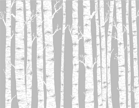 birch tree design on behance