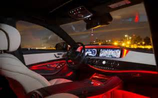 Car Interior Lighting Guide 2014 Mercedes S Class Led Interior Lighting