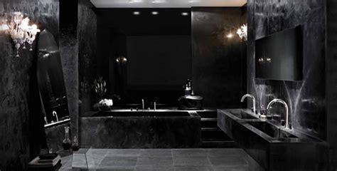 Grey Home Interiors by Badkamerstijl 9 Dark Romance Residence