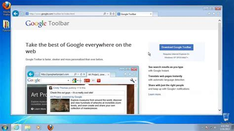 google search toolbar internet explorer how to add google toolbar to internet explorer browser