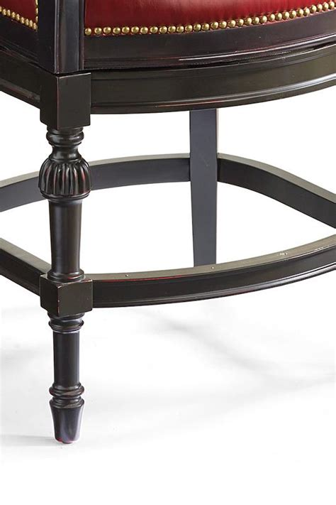 chesterfield counter height bar stool 25 3 4 quot h seat