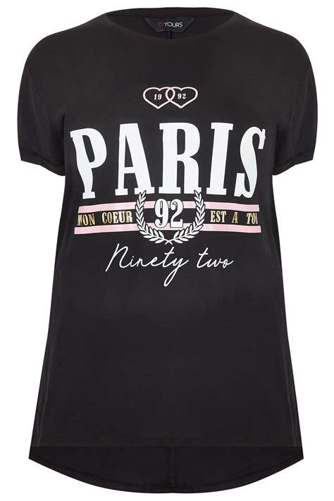 T Shirt S A S Buy Nggifa Name t shirt noir slogan quot quot taille 44 224 64