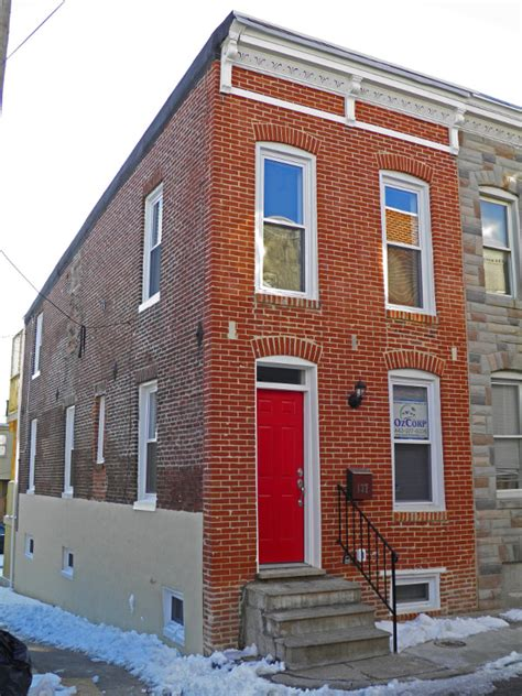 row home baltimore rowhome renovation row homes pinterest