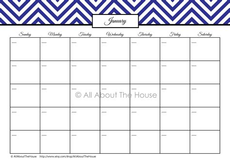 printable monthly calendar that i can type in chevron finance binder set household binder printables