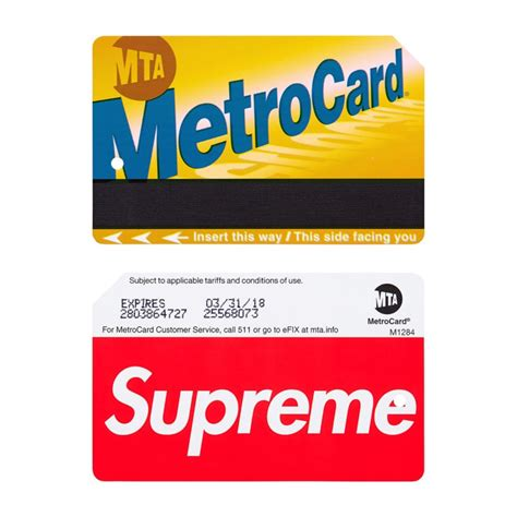 sold out store supreme supreme x metrocards bring chaos to nyc subways and sell
