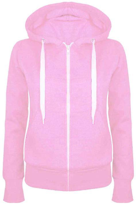 Jaket Parka Hoodie Aftersix plain zip up fleece hoody sweatshirt coat jacket top hoodies 6 24