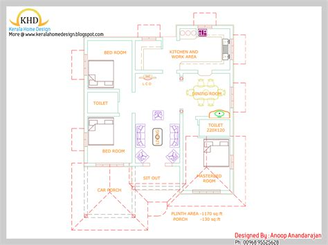 single floor house plan and elevation 1680 sq ft home 1290 square feet single floor 3 bedroom kerala low budget