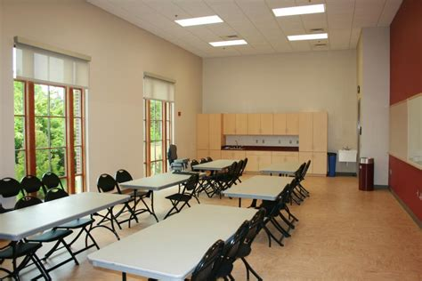 Sample Classroom Floor Plans by Stacy C Sherwood Community Center City Of Fairfax Va