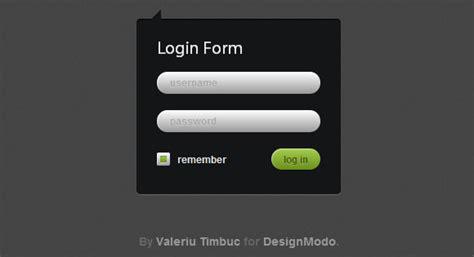 tutorial css login form 15 thorough new css3 tutorials