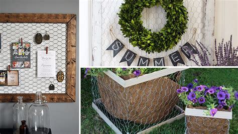 clever home decor ideas 15 clever diy chicken wire rustic decor ideas for your