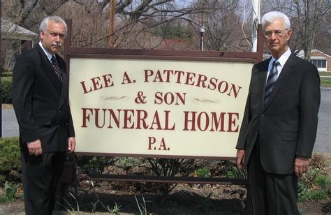 a patterson funeral home perryville md