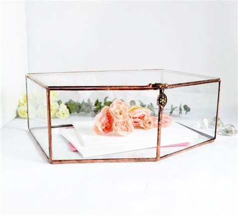 Wedding Envelope Box by Wedding Card Box Envelope Holder Glass Box Wedding Gift