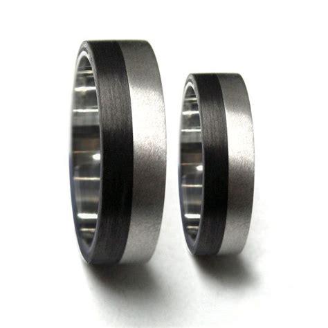 set   titanium  carbon fiber wedding bands unique
